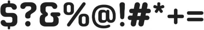 Moldr otf (700) Font OTHER CHARS