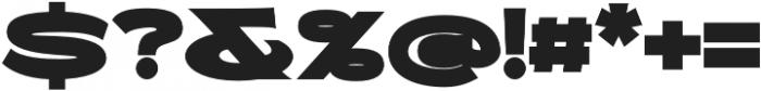 Molly Sans E Black otf (900) Font OTHER CHARS