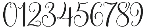 Molly Script otf (400) Font OTHER CHARS