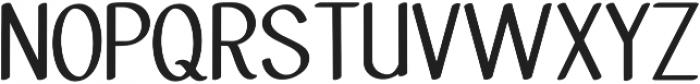 Molye Regular otf (400) Font UPPERCASE