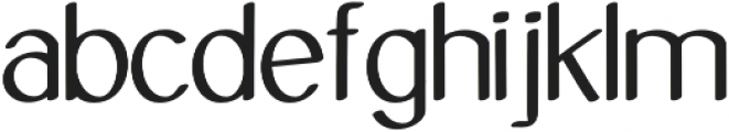 Molye Regular otf (400) Font LOWERCASE