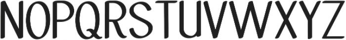 Molye Regular ttf (400) Font UPPERCASE