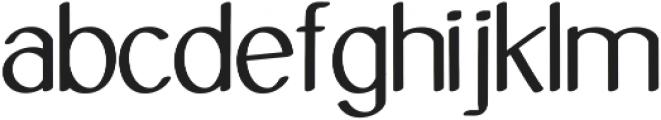 Molye Regular ttf (400) Font LOWERCASE
