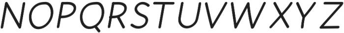 Mombasa-Bold-Italic Regular otf (700) Font UPPERCASE