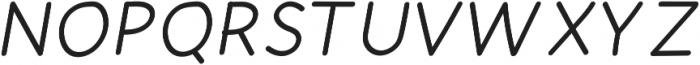 Mombasa-Bold-Italic Regular ttf (700) Font UPPERCASE