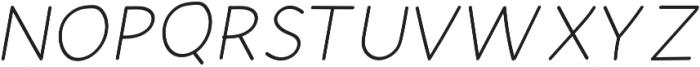Mombasa-Regular Italic otf (400) Font UPPERCASE