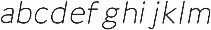 Mombasa-Regular Italic otf (400) Font LOWERCASE