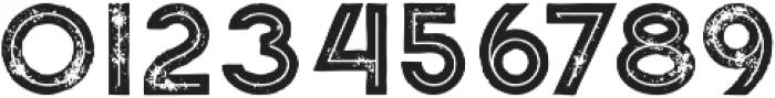 Momoco Inline Grunge otf (400) Font OTHER CHARS