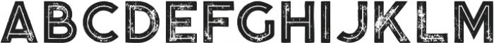 Momoco Inline Grunge otf (400) Font UPPERCASE