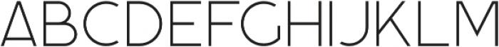 Momoco Thin otf (100) Font LOWERCASE