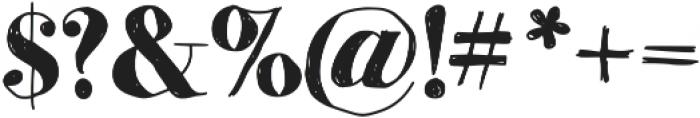 MomsDiner ttf (400) Font OTHER CHARS