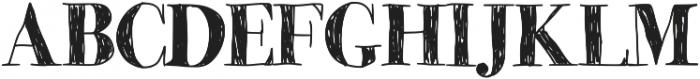 MomsDiner ttf (400) Font UPPERCASE