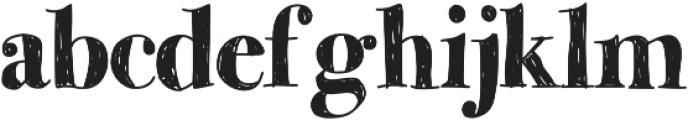MomsDiner ttf (400) Font LOWERCASE
