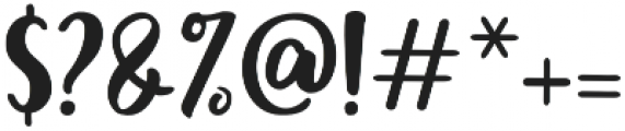 Monalisa 2nd Script otf (400) Font OTHER CHARS