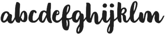 Monalisa 2nd Script otf (400) Font LOWERCASE