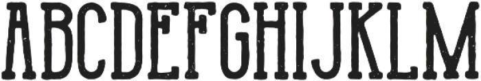 Monarchy Rough otf (400) Font UPPERCASE