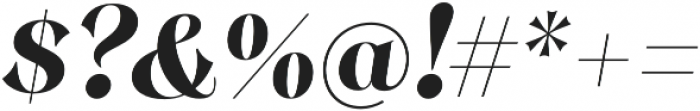 Monckeberg Bold It otf (700) Font OTHER CHARS
