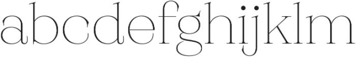 Monckeberg ExtraLight otf (200) Font LOWERCASE