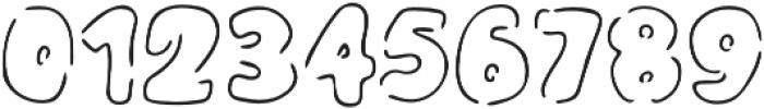 Monday Kids - Stencil otf (400) Font OTHER CHARS