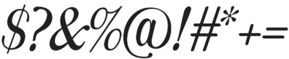 Monday Regular otf (400) Font OTHER CHARS