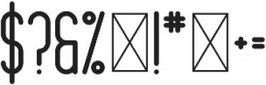 Mondaze Black otf (900) Font OTHER CHARS