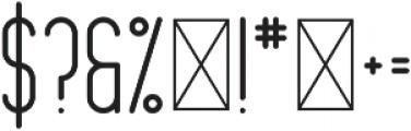 Mondaze Bold otf (700) Font OTHER CHARS