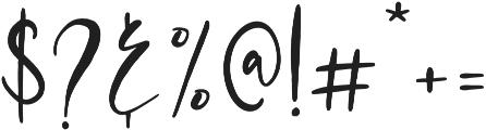 Mondela otf (400) Font OTHER CHARS