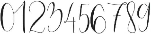 Mondellina Light otf (300) Font OTHER CHARS
