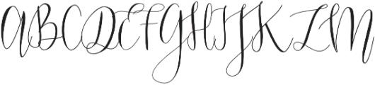 Mondellina Light otf (300) Font UPPERCASE