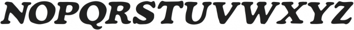 Mondeur Italic otf (400) Font UPPERCASE