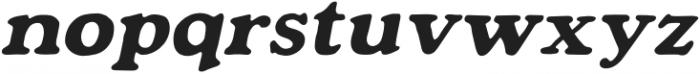 Mondeur Italic otf (400) Font LOWERCASE