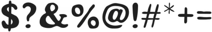 Mondeur Regular otf (400) Font OTHER CHARS