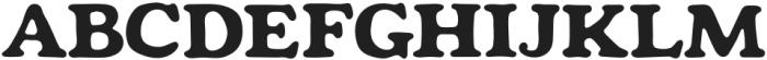 Mondeur Regular otf (400) Font UPPERCASE