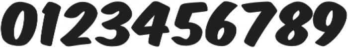 Monkey Buns Bold otf (700) Font OTHER CHARS