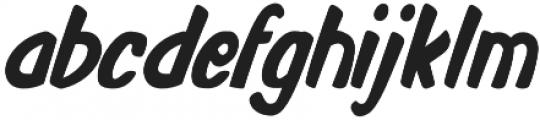 Monkey Buns Condensed Italic otf (400) Font LOWERCASE
