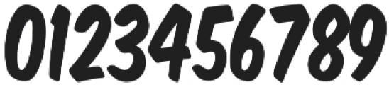 Monkey Buns Condensed Regular otf (400) Font OTHER CHARS