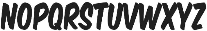 Monkey Buns Condensed Regular otf (400) Font UPPERCASE