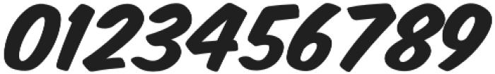 Monkey Buns Italic otf (400) Font OTHER CHARS