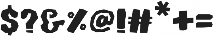 Monkey Stone otf (400) Font OTHER CHARS