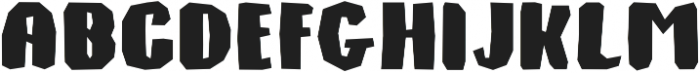 Monkey Stone otf (400) Font LOWERCASE