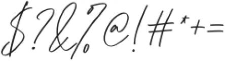 Monkeystand otf (400) Font OTHER CHARS