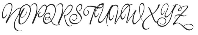 Monkuta Regular otf (400) Font UPPERCASE