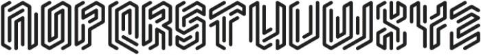 Monogram Rounded ttf (400) Font UPPERCASE