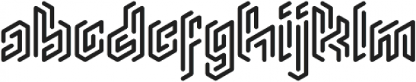 Monogram Rounded ttf (400) Font LOWERCASE
