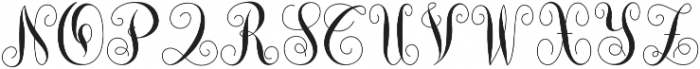Monogram She otf (400) Font UPPERCASE
