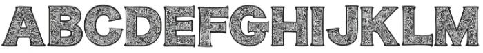 Monogramdeco otf (400) Font UPPERCASE
