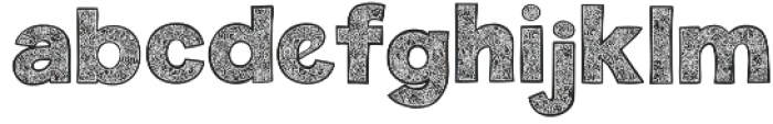 Monogramdeco otf (400) Font LOWERCASE