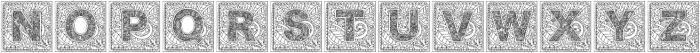 Monogramsquare otf (400) Font LOWERCASE