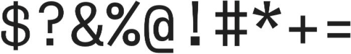 Monoist otf (400) Font OTHER CHARS