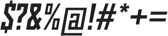 Monolisk Black Italic otf (900) Font OTHER CHARS